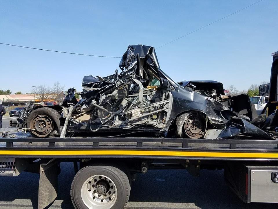 Acura East Brunswick >> Photos of Rt. 1 Car Crash Tuesday Morning in North Brunswick | East Brunswick, NJ Patch