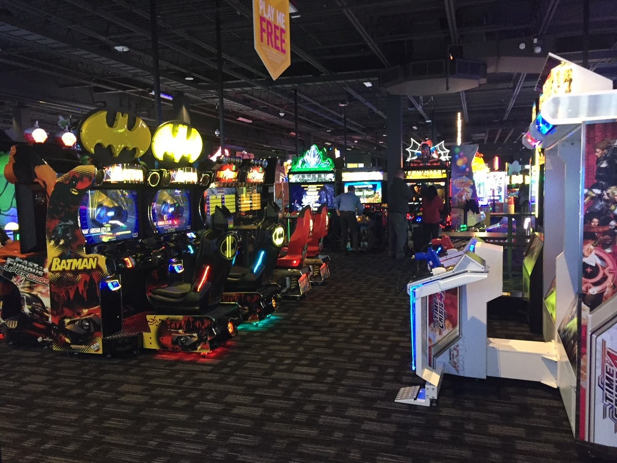 First Look At Dave And Buster's At Woodbridge Center Mall