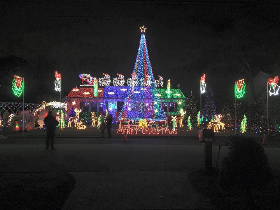 incredibly apruzzi told njcom hes poured an estimated 100000 into his christmas light show his show is free but people can leave donations and he