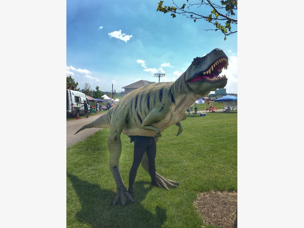 Field Station: Dinosaurs Comes To Middletown Library June 19