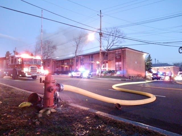 Christmas Eve Fire Tears Through Highland Park Apartment