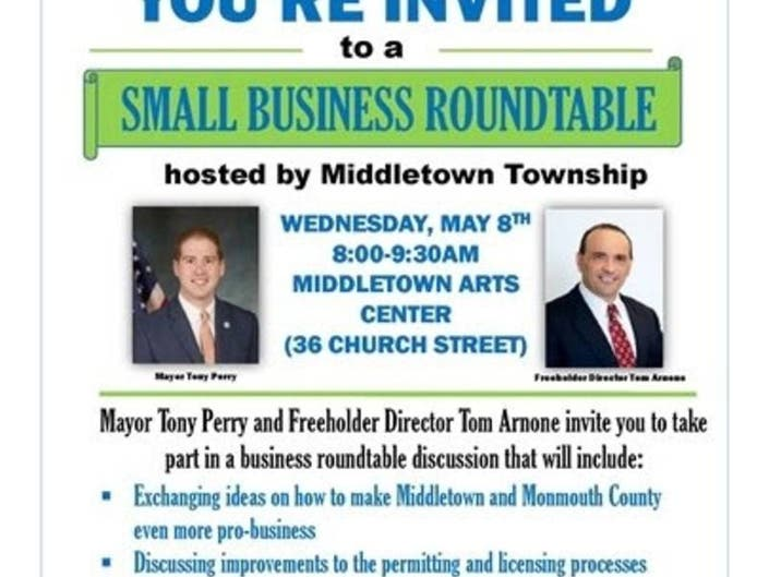 Middletown Small-Business Roundtable May 8