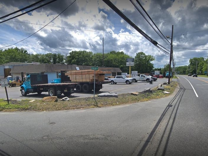 Tractor Trailer Crashes Into Old Bridge/Matawan Strip Mall: Photo