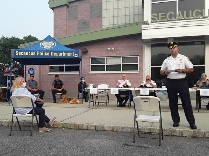 Secaucus Police Talk To Town: Crime Is Down, K9 Coming And More