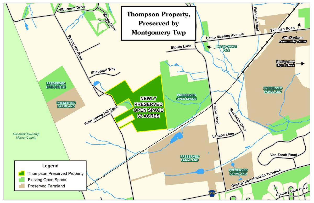 Montgomery Preserves 62 Acres Of Sourland Open Space