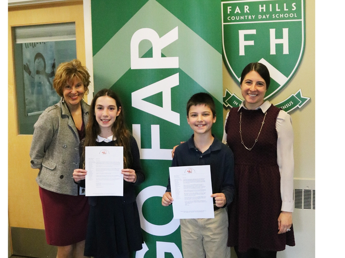 Basking Ridge Student Recognized By Library of Congress