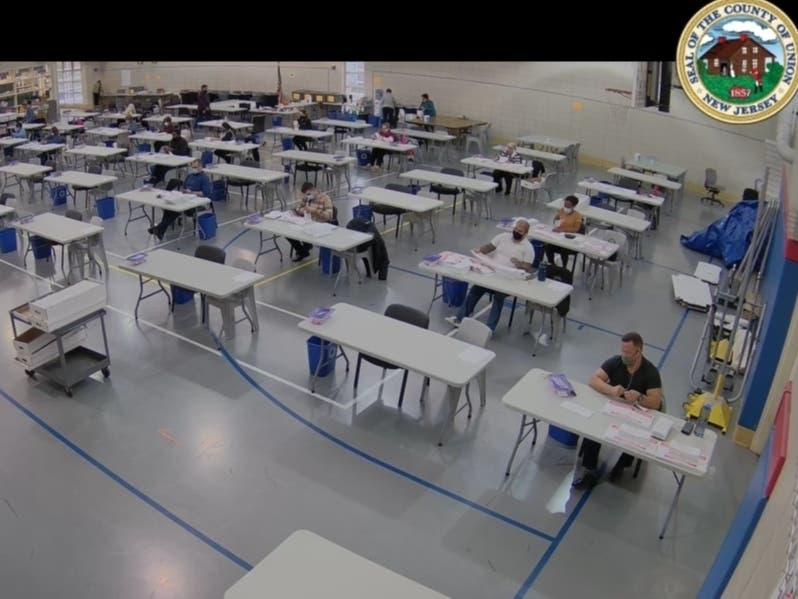 Union County Live Streams Ballot Counting For 2020 Election