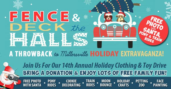 Dec 7 Fence Amp Deck The Halls Holiday Clothing Drive
