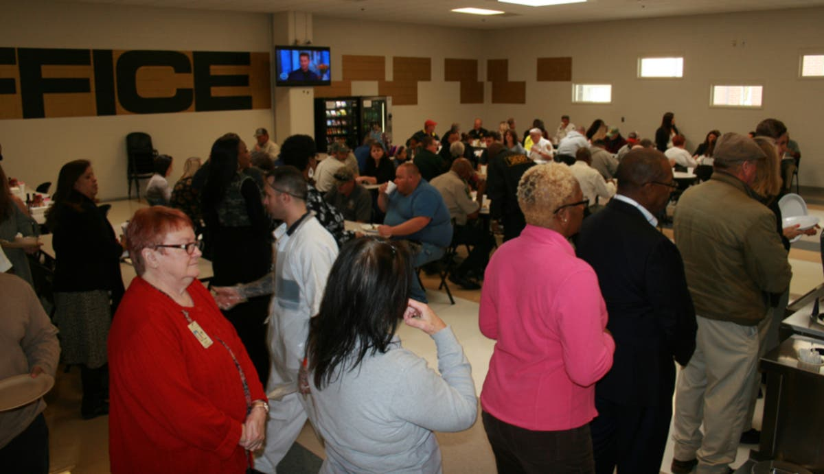 Douglas County Employees Feast With Sheriff's Office ...