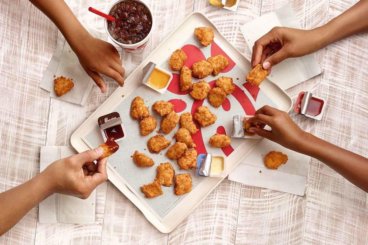 picture regarding Printable Chick Fil a Menu referred to as Chick-Fil-A Unveils 5 Clean Menu Goods Atlanta, Georgia Patch