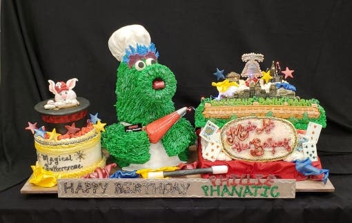 Local Woman Is Finalist In Phanatic Cake Contest