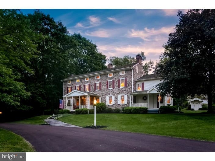 Check Out This Fieldstone Farmhouse For (Nearly) $1 Million