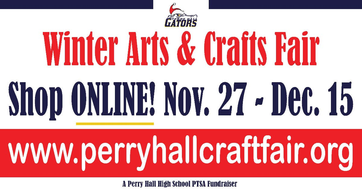Dec 15 Online Winter Arts Crafts Fair Perry Hall Md Patch