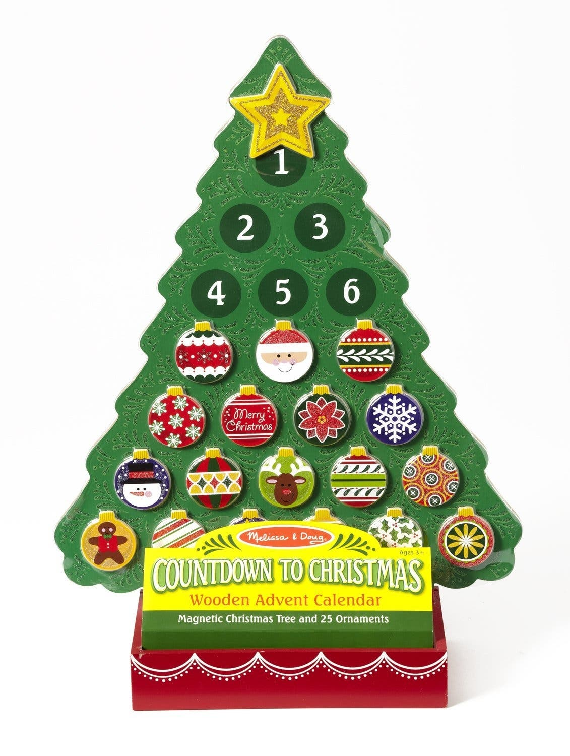 melissa doug countdown to christmas wooden advent calendar counting down to santas arrival is more fun than ever with this magnetic advent calendar - When Is The Best Time To Buy Christmas Decorations