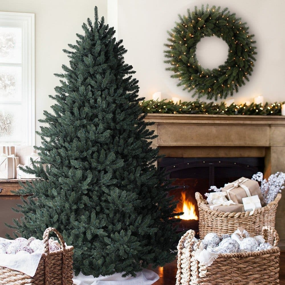 6 5 Foot Balsam Hill Blue Spruce Artificial Christmas Tree Have You Ever Seen A More Beautiful This Timeless Is Comprised Of 2 144 Branch