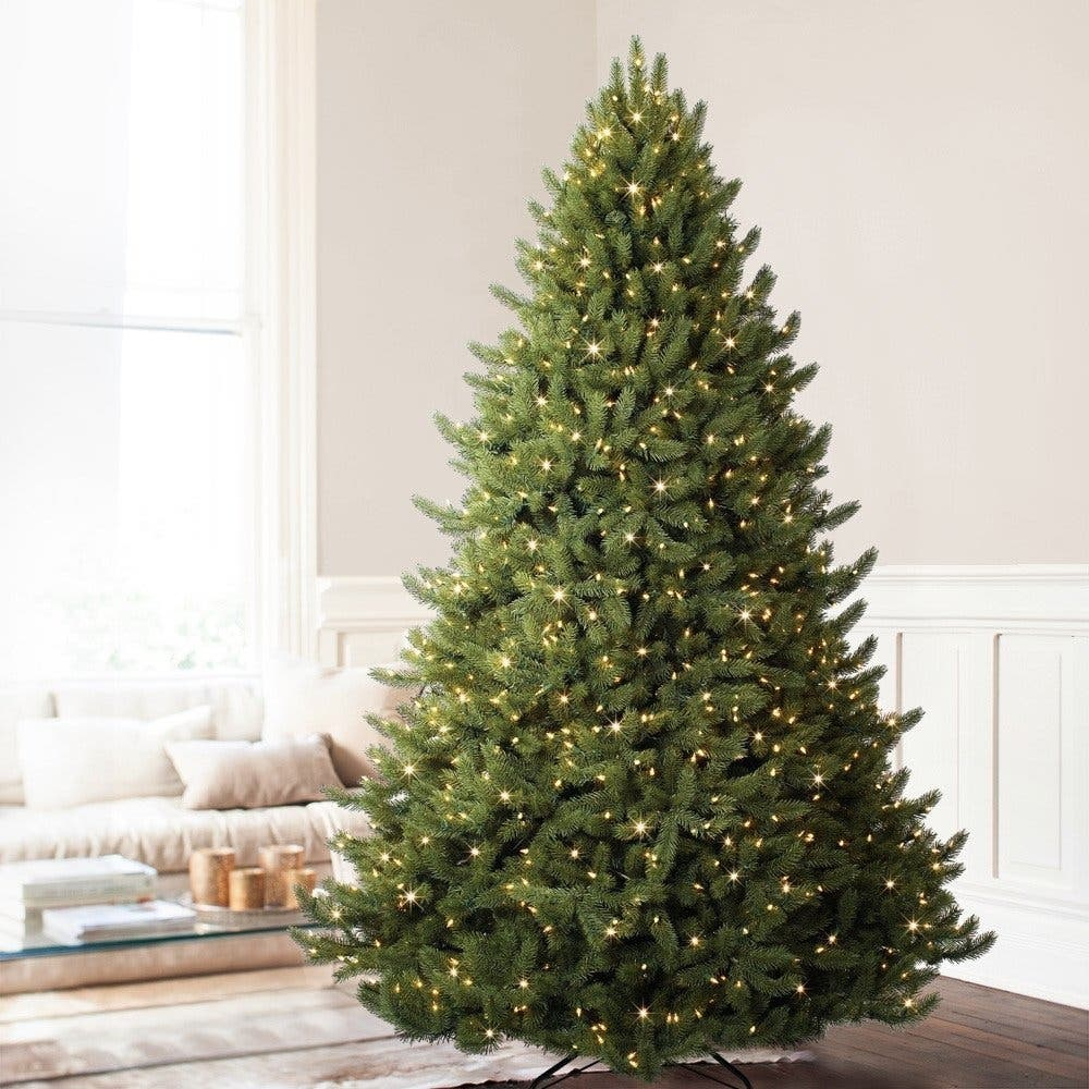 5 Foot Balsam Hill Vermont White Spruce Premium Pre Lit Artificial Christmas Tree No Need To String Any Lights On This Stunning It Comes