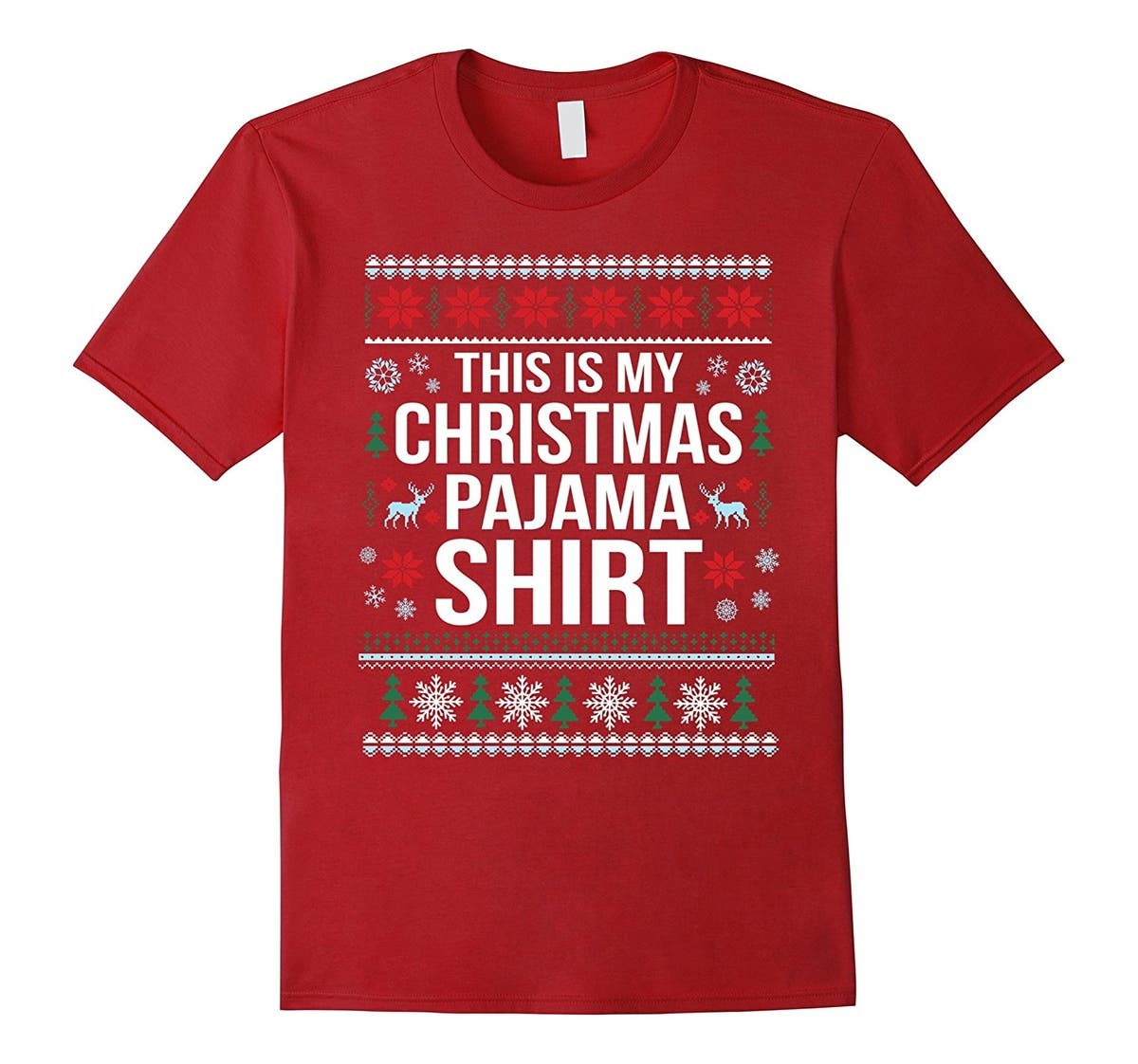 this is my christmas pajama shirt t shirt if youre the relative that wears this shirt we totally get it plus you do get credit for being part of the - Christmas Vacation Onesie
