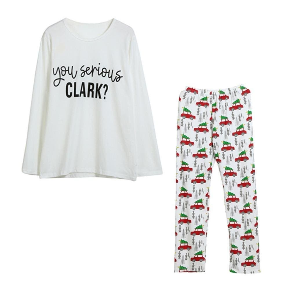 if you like national lampoons christmas vacation youll love these you serious clark pajamas if your family is anything like the griswolds - Christmas Vacation Onesie