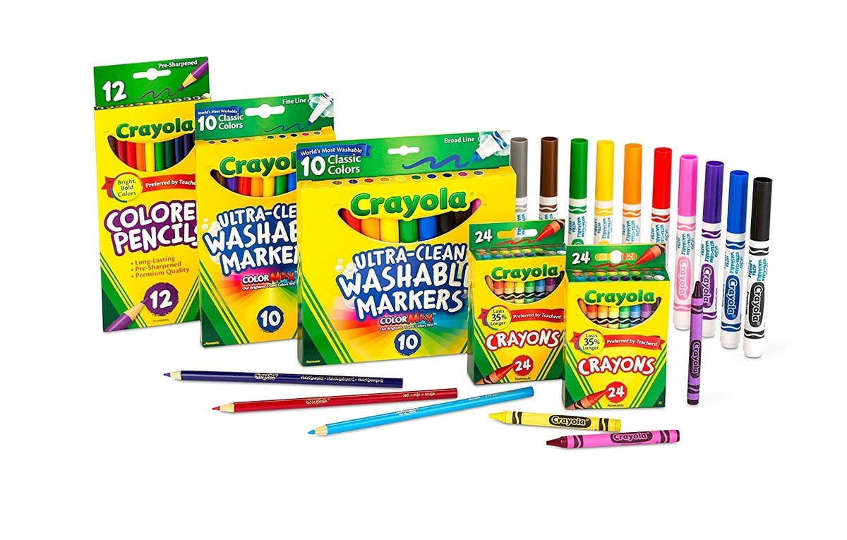 Todays The Day To Stock Up On Crayola Art Supplies Dealtown Us Patch