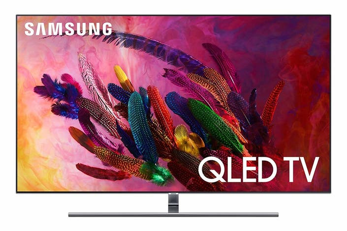2918e6360 Samsung Flat 55-inch QLED 4K UHD 7 Series Smart TV 2018. Discount  32  percent off. It s easy to see why this TV made it onto Oprah s Favorite  Things 2018 ...