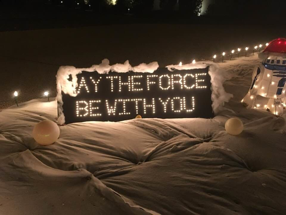 San Antonio Star Wars-Themed Holiday Decorations Are Forceful | San ...