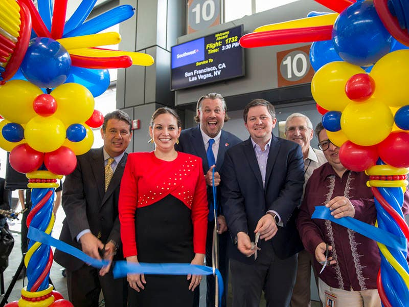 Southwest Now Flying From Austin To San Francisco