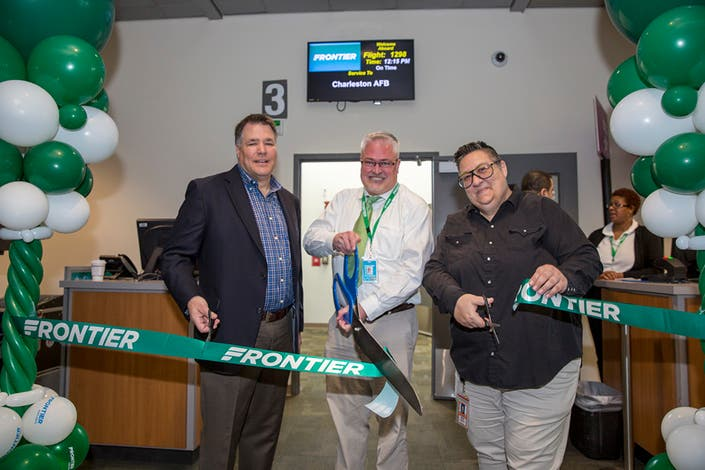 Frontier Airlines Adds Several Nonstop Flights To From
