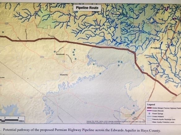 Concerns Over Proposed Natural Gas Pipeline Grow In Austin