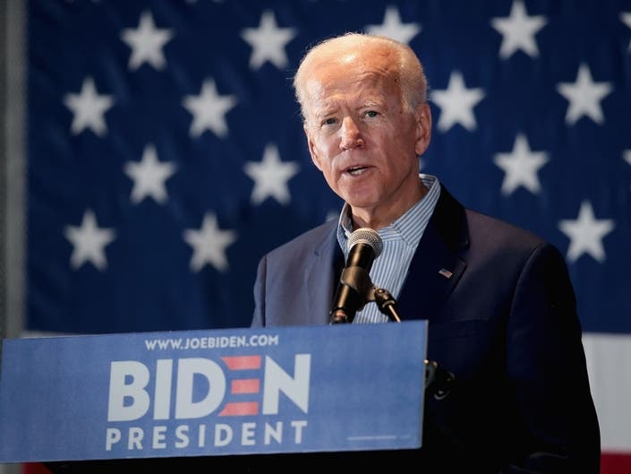 Biden Leads Democratic Presidential Nomination Race In Texas