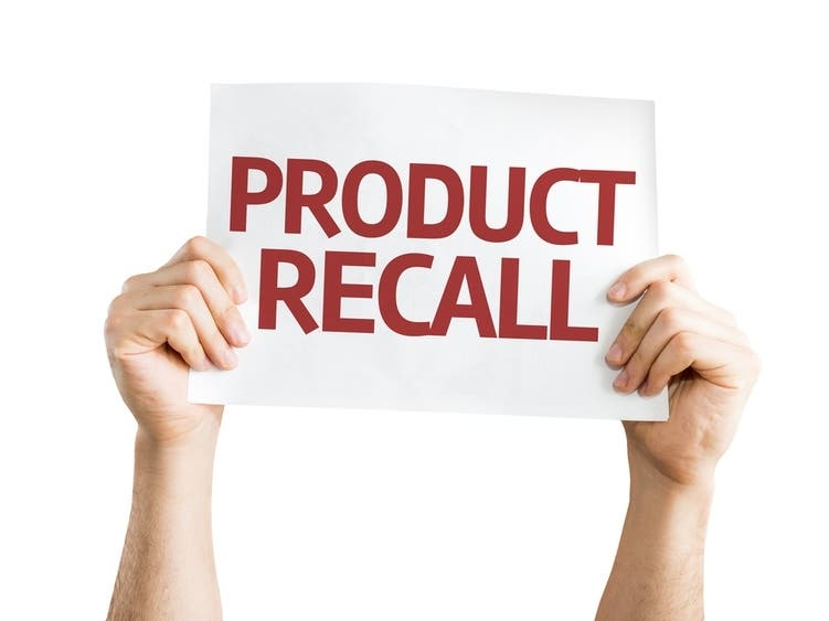 Pastries Sold In Texas Without Allergen Declaration Recalled