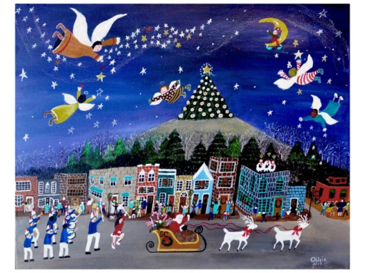 Mountain Christmas Cards.Stone Mountain Fine Art Christmas Cards Stone Mountain Ga