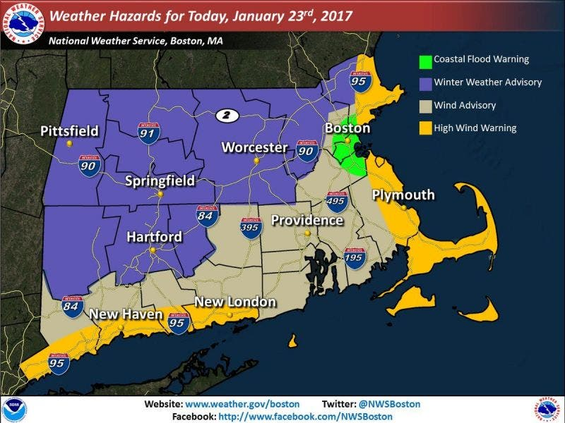 Massachusetts Weather Forecast: Nor\'easter Bearing Down; Updated ...