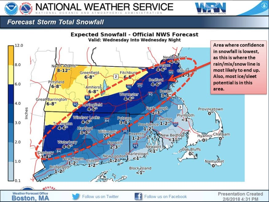 RI Weather Outlook: Storm Timing, Snow Estimates | East ... on