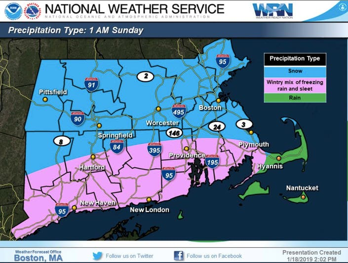 Ma Weather Snow Totals Adjusted Storm Timing Set Boston Ma Patch - Us-map-boston-ma