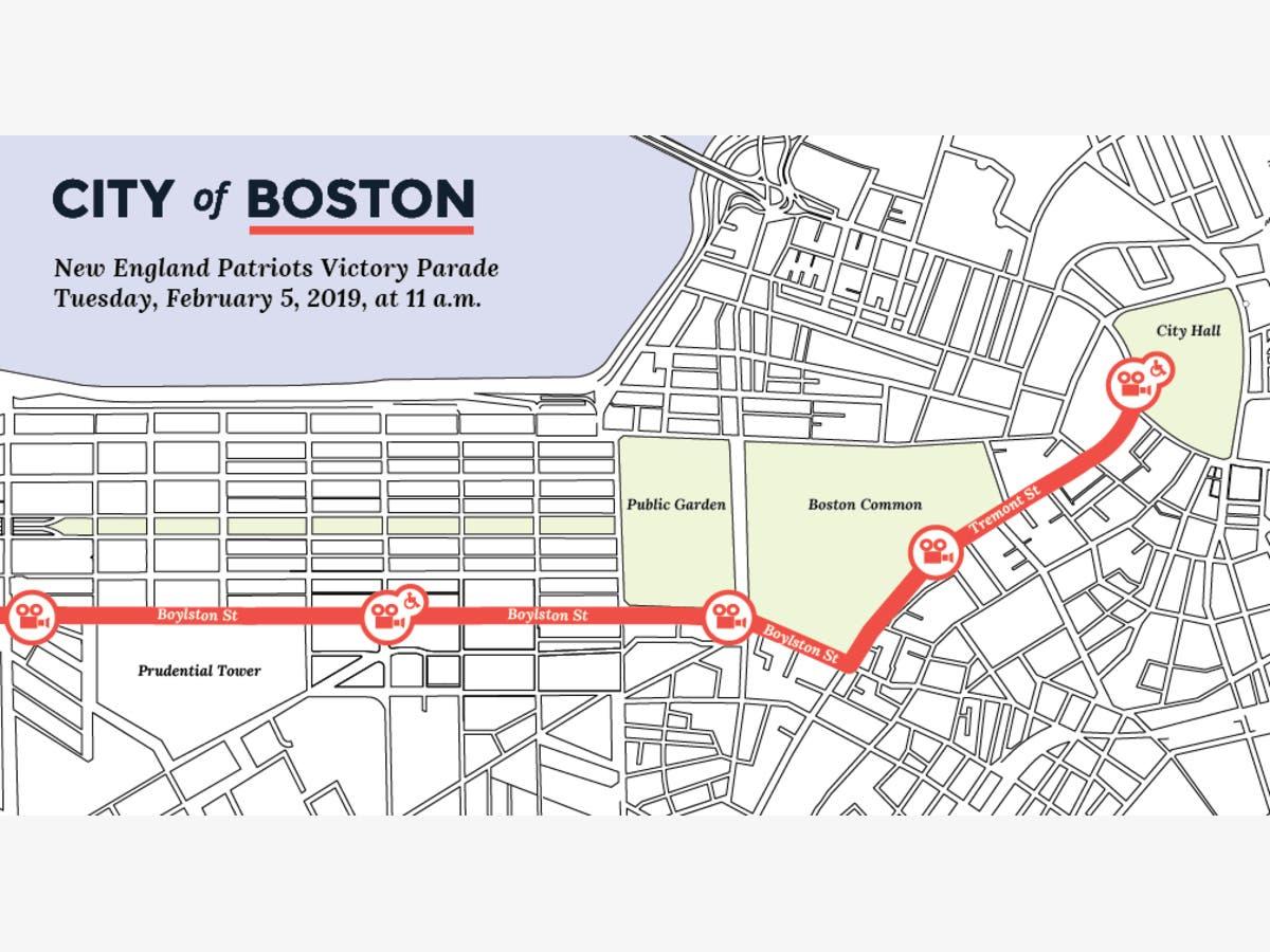 7b8ac6d7 New England Patriots Super Bowl Parade 2019: Date, Route   Boston ...