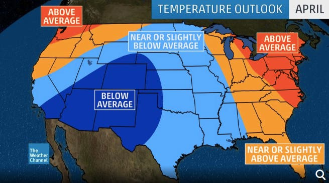 MA's Long-Term Spring Forecast Should Warm You Up | Boston
