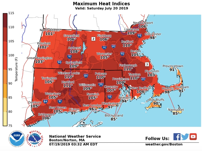 Image result for heat wave boston