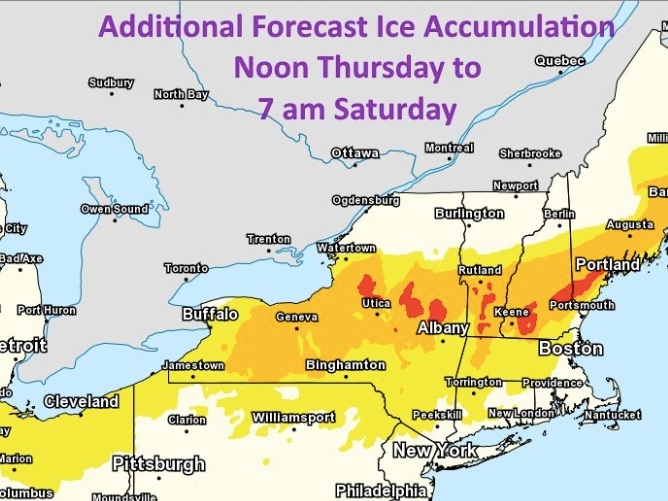 MA Weather: Round 2 Of Snow, Ice Moving In Thursday Night