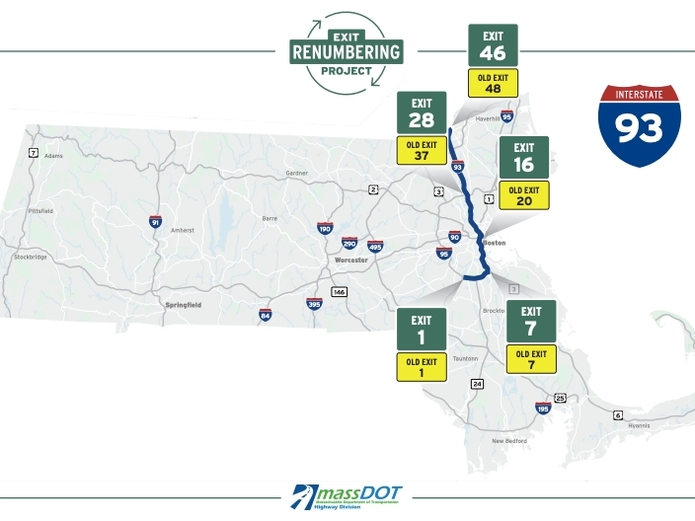 Most Highway Exit Numbers Are Changing Starting Next Month
