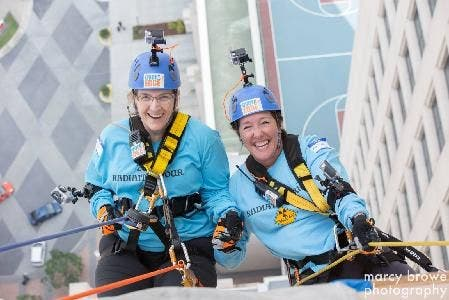 People Will Be Rappelling Down a Building in Crystal City