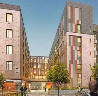 Low-Income Apartment Building Opening in Arlington