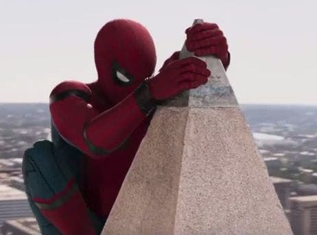 dc53ee4efa2 'Spiderman: Homecoming' Trailer Features Wild Washington Monument Stunt  [VIDEO]