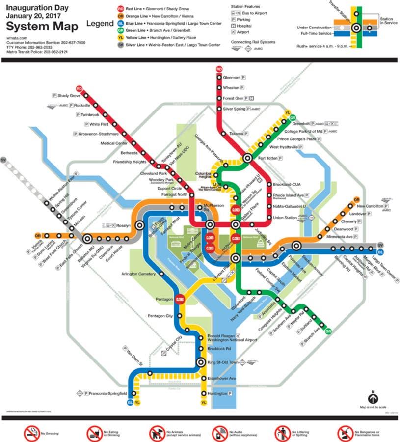 Washington Dcdc Subway Map.Metro Installs Metro Map Upside Down Washington Dc Dc Patch