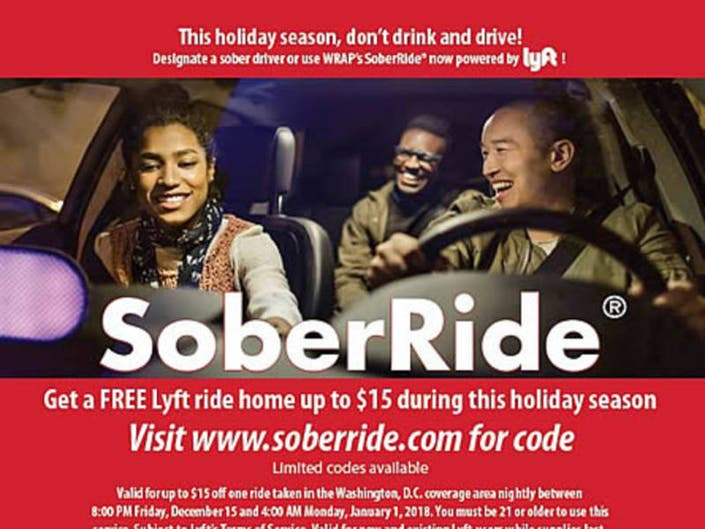 Free Holiday Lyft Rides In Upper Marlboro