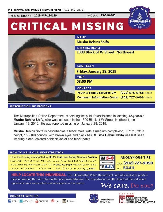Missing DC Uber/Lyft Driver Found Dead In Delaware: Report