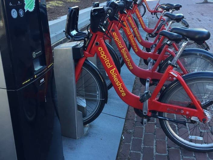Free Capital Bikeshare Offered In DC For Earth Day