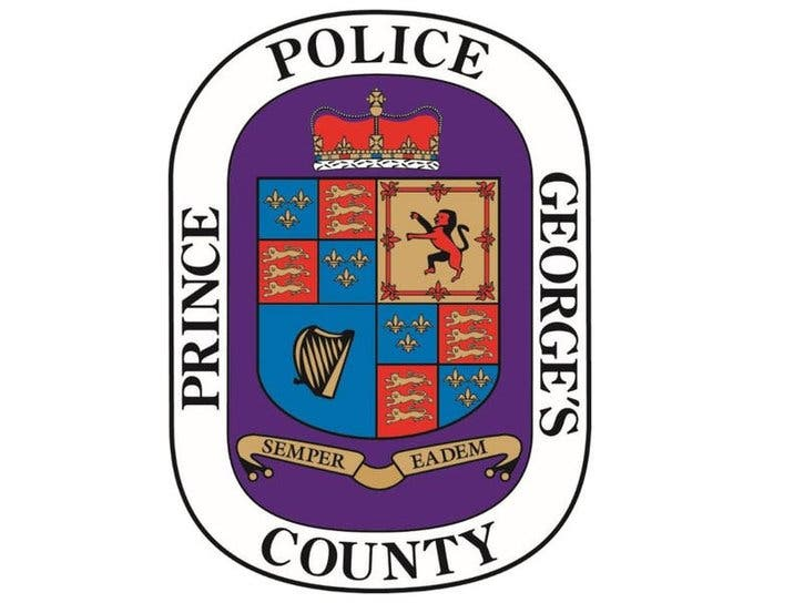 PRINCE GEORGES COUNTY MARYLAND MD POLICE PATCH