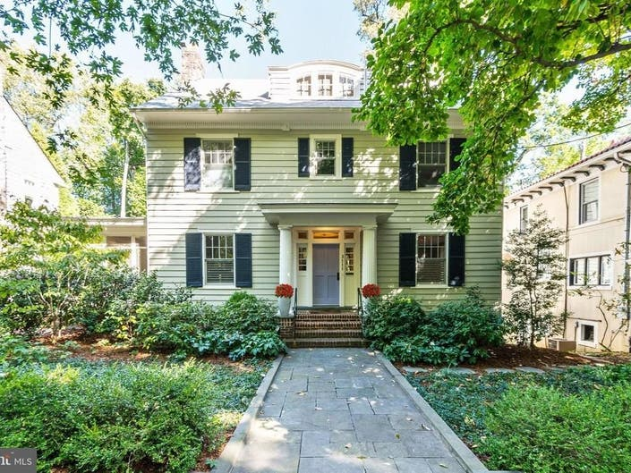 Look Inside: Spectacular Renovated Colonial In Cleveland Park