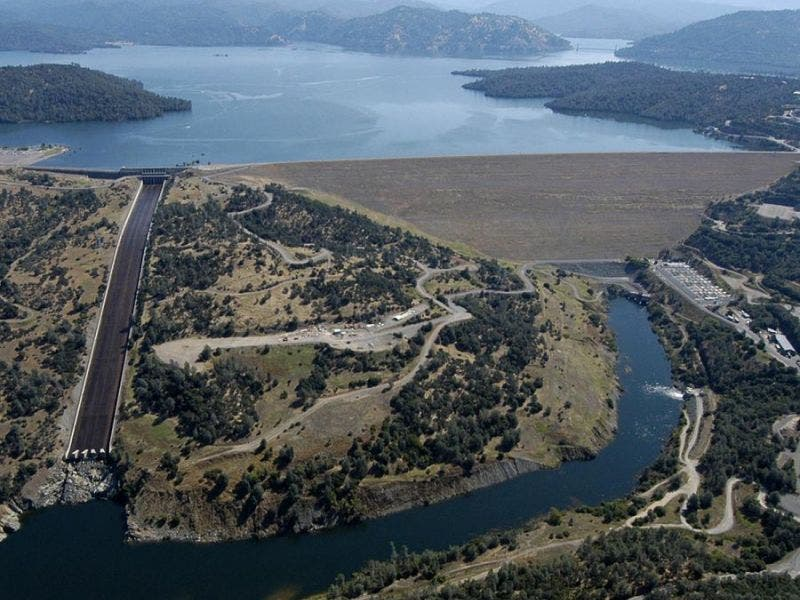 Map Of California Oroville Dam.5 Things That Could Happen If California S Oroville Dam Breaks