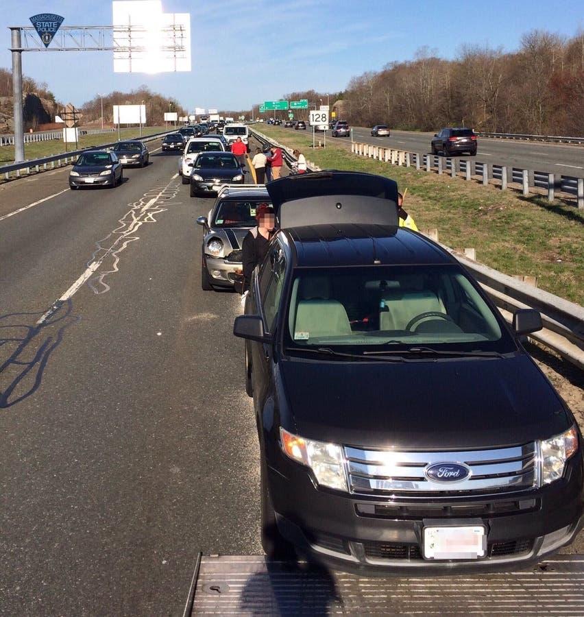 Rt  128 Traffic: 6-Car Peabody Crash Clear | Peabody, MA Patch